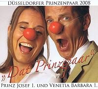 Düsseldorfer Prinzenpaar 2008 - Dat Prinzepaar