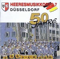 Heersmusikkorps 7 - Düsseldorf - 50 Jahre