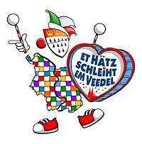 Kölner Festkomitee Sessionsmotto 2020 - Et Hätz schleiht em Veedel
