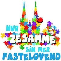Kölner Festkomitee Sessionsmotto 2021 - Nur zesamme sin mer Fastelovend